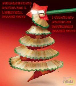 Cartel Concuroso postales navideñas