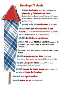 Programa Fiestas 2018 página 3