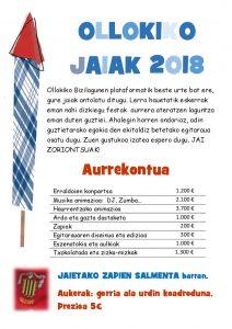 Programa Fiestas 2018 página 4